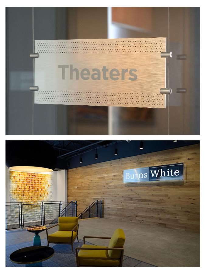 Burns White - Interior Signage
