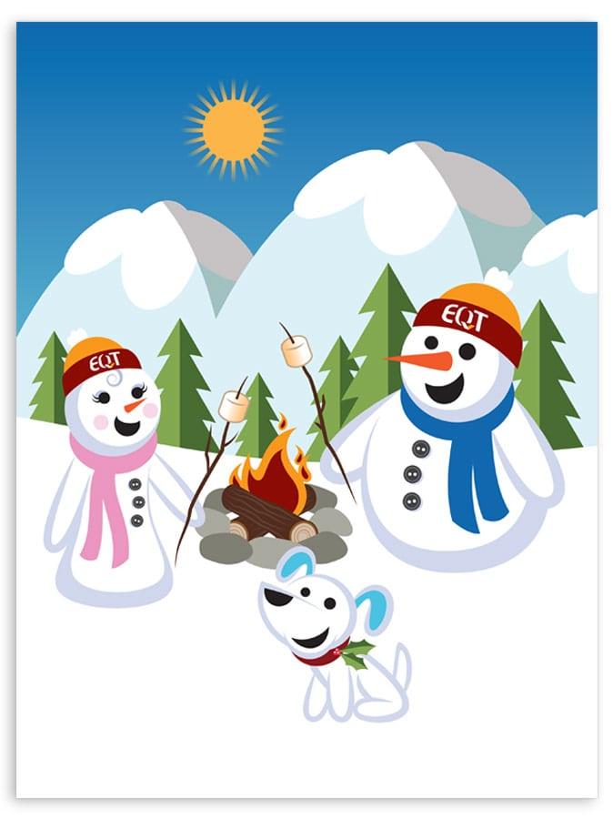 EQT Holiday Animation Graphics
