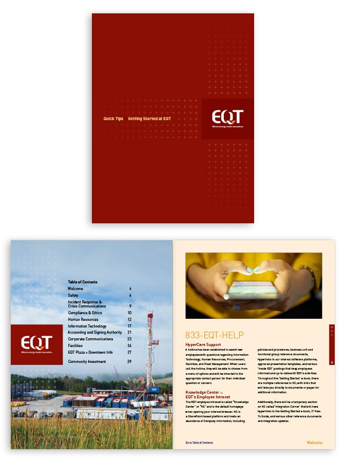 EQT Rice Energy New Employee Guide