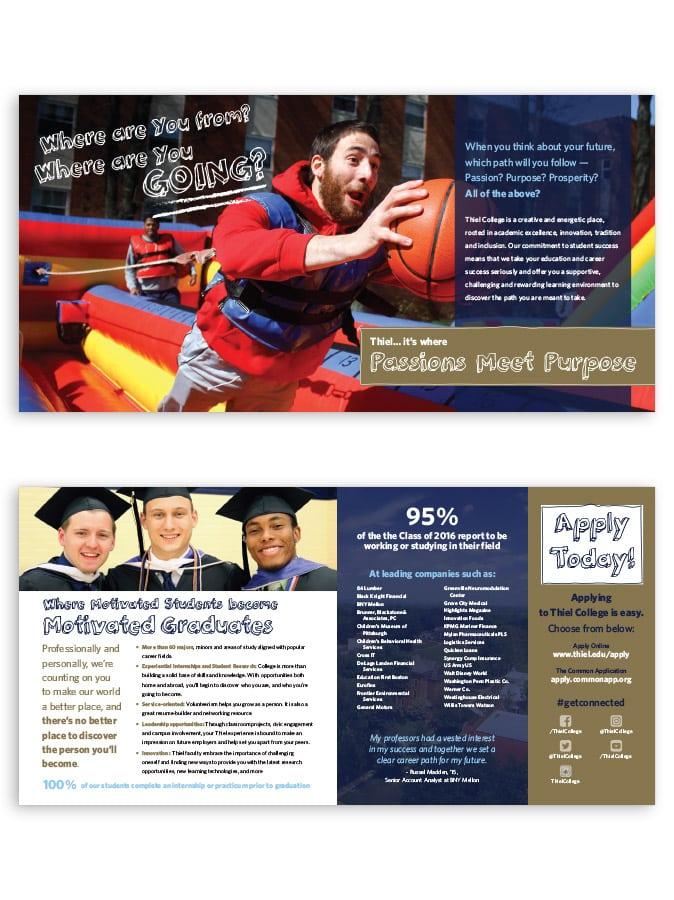 Thiel College - Brochure Interior