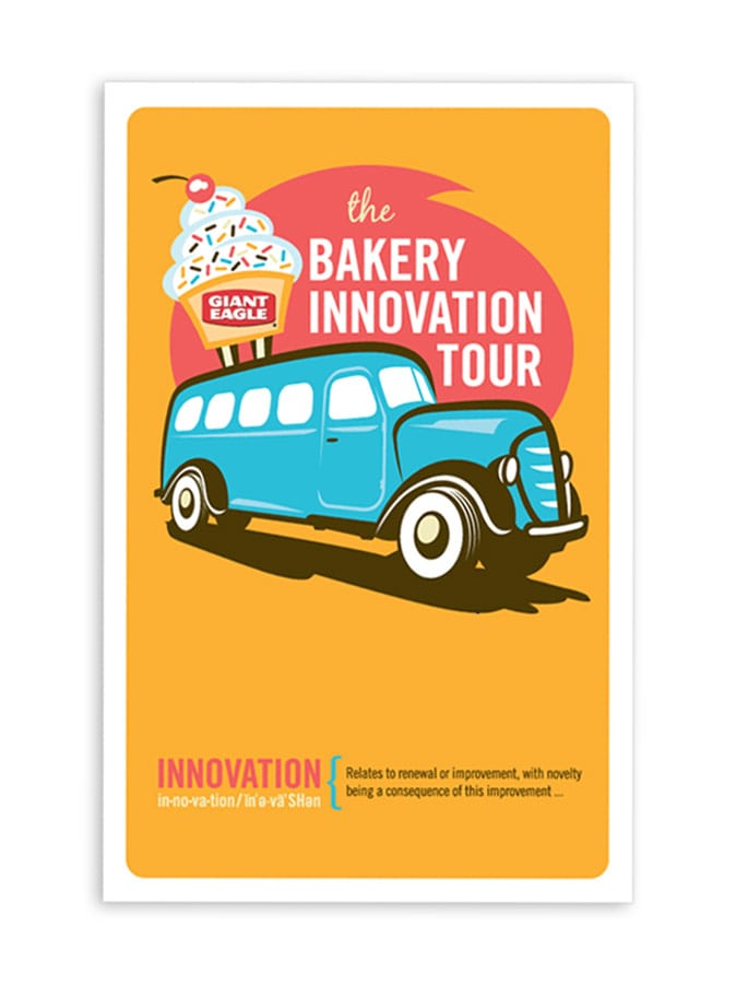 Giant Eagle Bakery Innovation Tour Cover