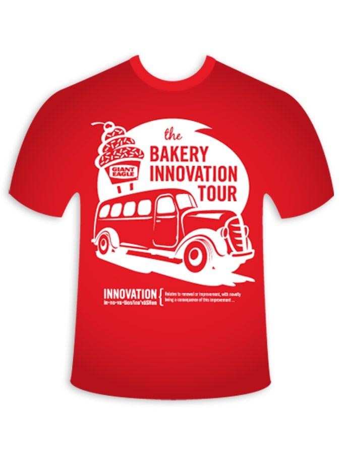 Giant Eagle Bakery Innovation Tour T-Shirt